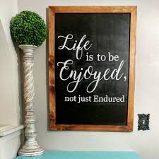 framed family proclamation is to be enjoyed not just endured engraved sign freckle barn