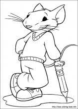 stuart little coloring pages on coloring book info
