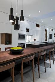 Large Wooden Dining Table by Kitchen Cool Modern Open Kitchen Ideas Cool Modern Open Kitchen