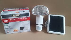 Defiant Motion Security Led Light Solar Powered by Best Defiant 48 Led Solar Motion Security Light Retails 40 For
