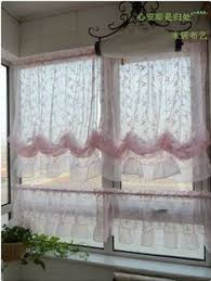 Pull Up Curtains Far Above Rubies Muslin And Lace Sink Skirt And Cafe Curtains