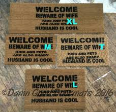 Funny Doormat Sayings Cool Doormats India Flags And Doormats Org Reads Amazonca Should