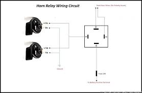 connecting a horn relay