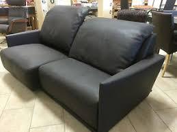 sofa sitztiefe verstellbar tfm leder sofa model cube dkl draun verstellbar in höhe