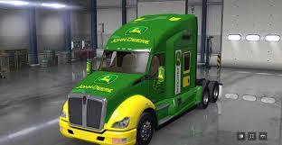2016 kenworth t680 price kenworth t680 john deere skin mod american truck simulator mod