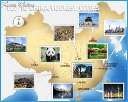 best places to go for summer vacation in china travel map