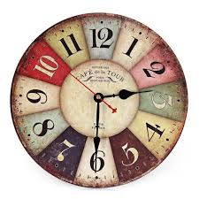 vintage style home decor wholesale vintage wooden wall clock shabby chic rustic retro kitchen home