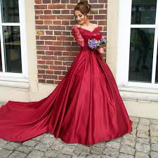 engagement dresses luxurious sleeve prom dresses gown