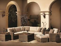 large sectional sofa with ottoman 25 awesome modern brown all weather outdoor patio sectionals