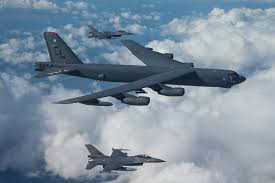 the aviationist dutch f 16s intercepted u s b 52 bombers over