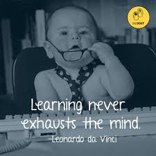 leonardo da vinci quote about learning quotes invest in learning