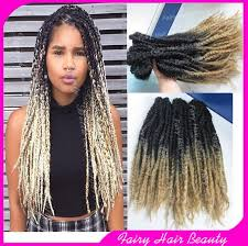 ombre marley hair stock 20 folded black blonde synthetic marley twist ombre two
