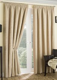 Danielle Eyelet Curtains by Balmoral Chenile Thermal Natural Pencil Pleat Curtains Com