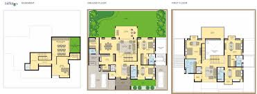 plan villa master plan