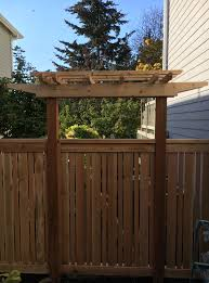 trellis projects contour fence