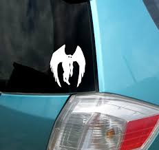 cryptozoology collection mothman sticker vinyl decal by