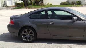 2005 bmw 645i review for sale 2005 bmw 645ci coupe navigation system