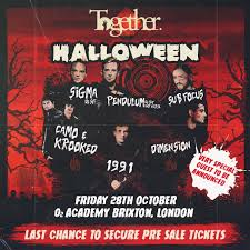 ra together halloween at o2 academy brixton london 2016