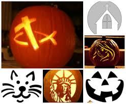 halloween family friendly pumpkin carving templates celebrating