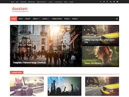 wordpress layout how to awaken free wordpress themes
