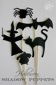 338 best halloween crafts for kids images on pinterest halloween free printable halloween shadow puppets these look amazing