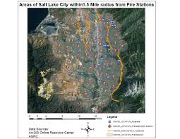 Utah County Map Earthquake Hazards Along The Wasatch Fault Michael Haskins