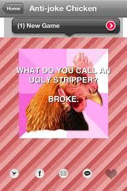 Anti Joke Chicken Meme - app la mode anti joke chicken meme