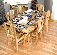 Perfect Pine Dining Room Sets Heart Table A Throughout Design - Pine dining room table