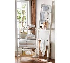 over the toilet ladder oak shelf floor standing for bathroom