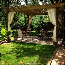 Backyard Arbors Triyae Com U003d Backyard Pergola Canopy Various Design Inspiration