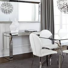 Mirrored Console Table Atelier Mirrored Console Table Consoles Accent Tables Atelier