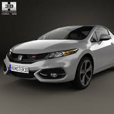 3d model honda civic coupe si 2014 cgtrader