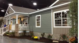 clayton modular home mobile home outside paneling clayton show porch front porches and
