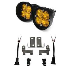 2008 toyota tacoma fog light kit baja designs 447115 tacoma tundra led fog light kit squadron r sport