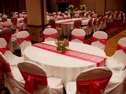 brilliant red table decorations wedding centerpieces or bridal