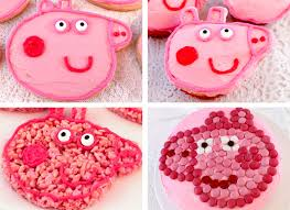 peppa pig decorations peppa pig party dessert ideas two