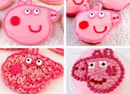 peppa pig birthday ideas peppa pig party dessert ideas two