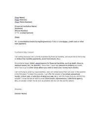 hardship letter example docoments ojazlinkfinancial hardship
