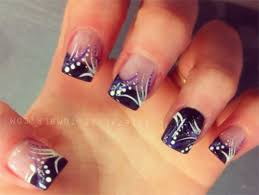 15 french black gel nail art designs u0026 ideas 2016 fabulous nail