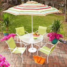 Heavy Duty Dining Room Chairs by Garden Treasures Patio Dining Set Rainbow Outdoor Umbrella Pagosa