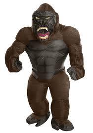 gorilla costumes u0026 suits for kids u0026 adults halloweencostumes com