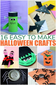 Fun Halloween Crafts - halloween crafts kids can make at parties
