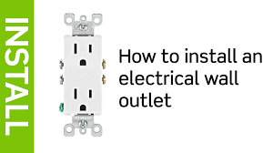 leviton presents how to install an electrical wall outlet youtube