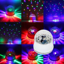 special effects lights mini ufo magic disco led light