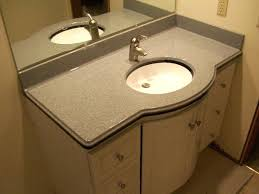 Lowes Bathroom Vanity Top Marble Vanity Tops Wave Bowl Dbl Standard Standard Edge