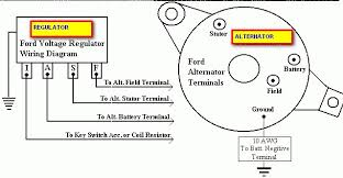 external voltage regulator wiring diagram external wiring