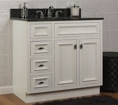 bathroom vanity base cabinets jsi danbury 36 white 3 drawer bathroom vanity base cabinet w solid
