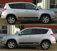 toyota rav4 trd car stripes and graphic kit infinity270