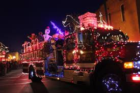 Fire Trucks Decorated For Christmas December 2016 South County News