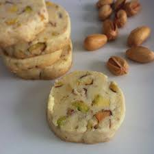 nowruz inspired pistachio rosewater and cardamom shortbread